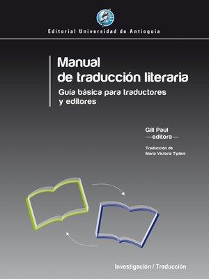 cover image of Manual de traducción literaria
