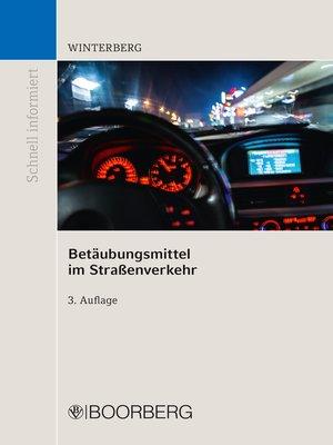 cover image of Betäubungsmittel im Straßenverkehr