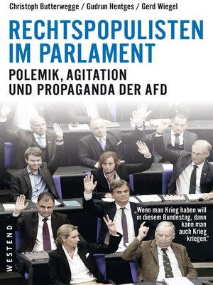 cover image of Rechtspopulisten im Parlament
