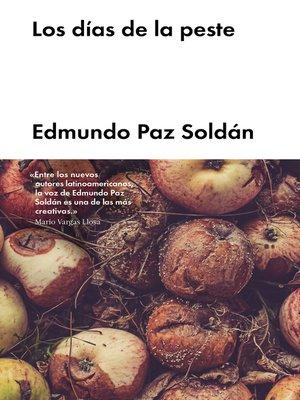 cover image of Los días de la peste
