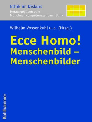 cover image of Ecce Homo!