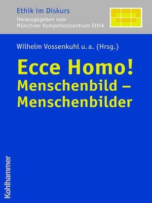 cover image of Ecce Homo!