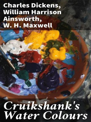 cover image of Cruikshank's Water Colours