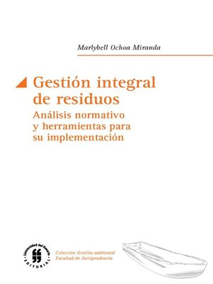cover image of Gestión integral de residuos