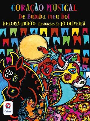 cover image of Coração musical de Bumba meu boi
