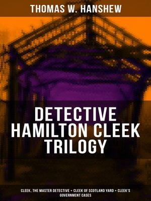 cover image of DETECTIVE HAMILTON CLEEK TRILOGY
