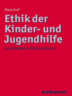 cover image of Ethik der Kinder- und Jugendhilfe