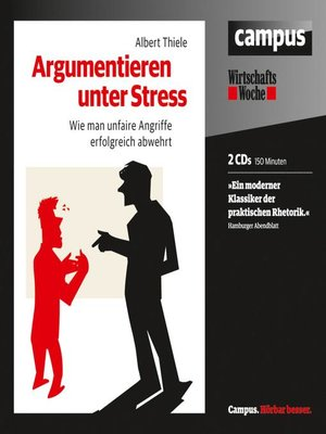 cover image of Argumentieren unter Stress