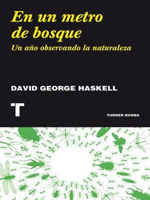 cover image of En un metro de bosque