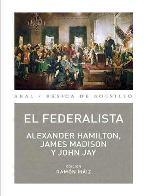 cover image of El Federalista