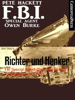 cover image of Richter und Henker