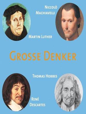 cover image of CD WISSEN--Große Denker--Teil 03