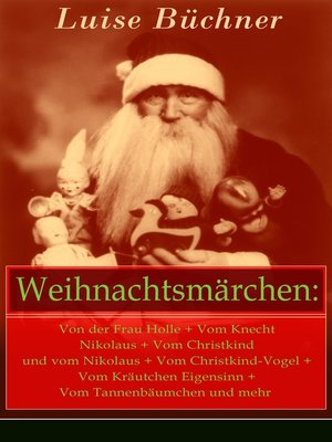 cover image of Weihnachtsmärchen