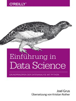 cover image of Einführung in Data Science