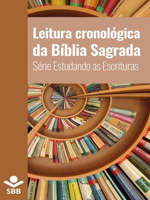 cover image of Leitura cronológica da Bíblia Sagrada