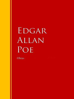 cover image of Obras de Edgar Allan Poe