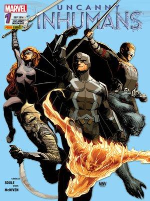 cover image of Uncanny Inhumans 1--Kampf gegen die Zeit