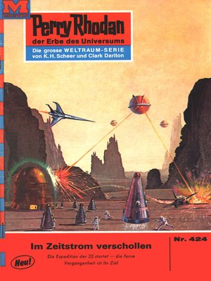 cover image of Perry Rhodan 424
