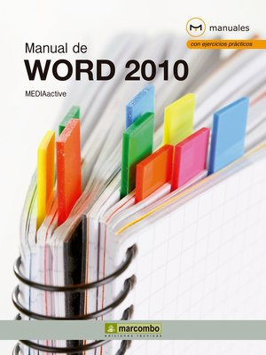 cover image of Manual de Word 2010