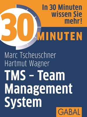 cover image of 30 Minuten TMS--Team Management System