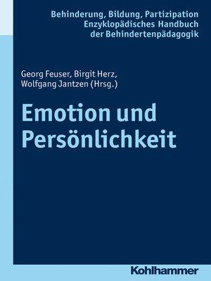 cover image of Emotion und Persönlichkeit