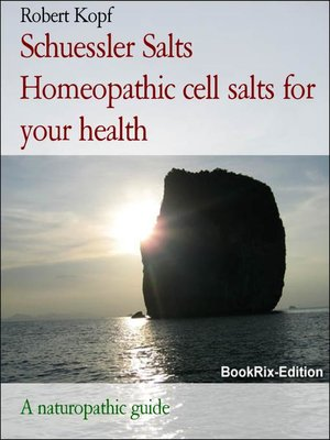 cover image of Schuessler Salts Homeopathic cell salts for your health