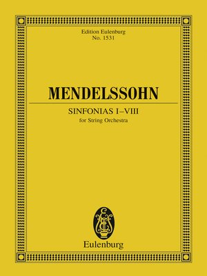 cover image of Sinfonias I-VIII