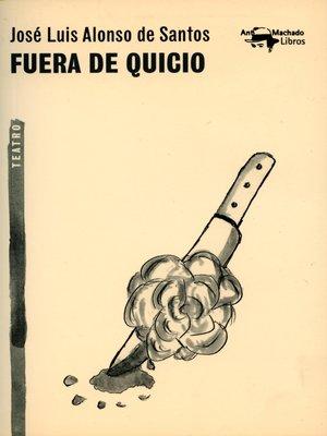 cover image of Fuera de quicio
