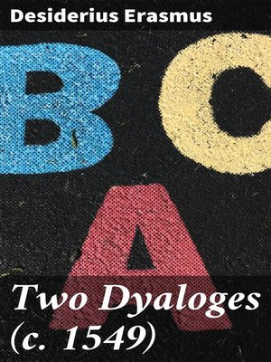 cover image of Two Dyaloges (c. 1549)