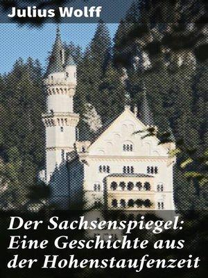 cover image of Der Sachsenspiegel