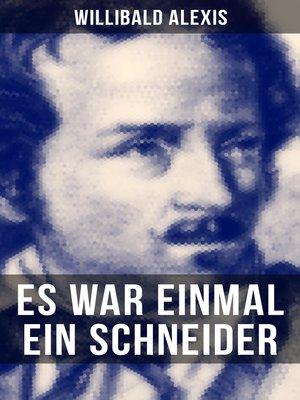 cover image of Es war einmal ein Schneider