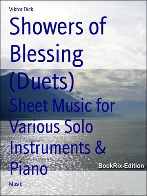 cover image of Showers of Blessing (Duets)