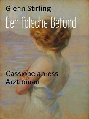 cover image of Der falsche Befund