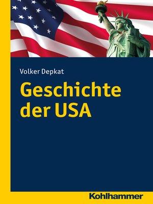 cover image of Geschichte der USA