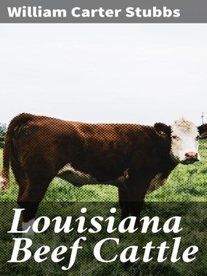 cover image of Louisiana Beef Cattle