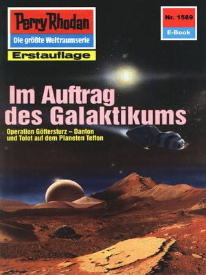 cover image of Perry Rhodan 1589