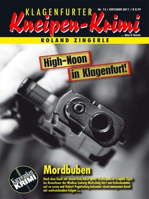 cover image of Mordbuben