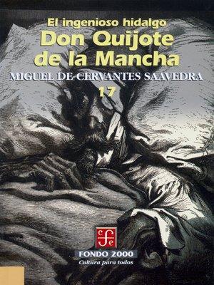 cover image of El ingenioso hidalgo don Quijote de la Mancha, 17