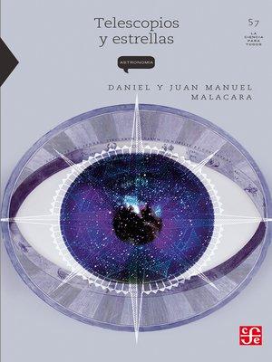 cover image of Telescopios y estrellas