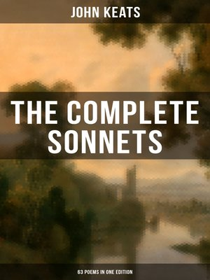 cover image of The Complete Sonnets of John Keats (63 Poems in One Edition)