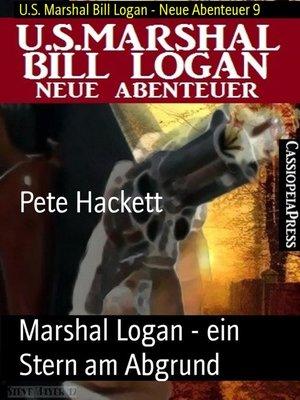cover image of Marshal Logan--ein Stern am Abgrund