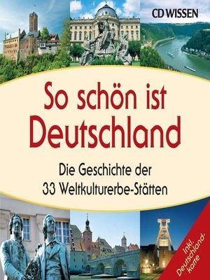 cover image of So schön ist Deutschland