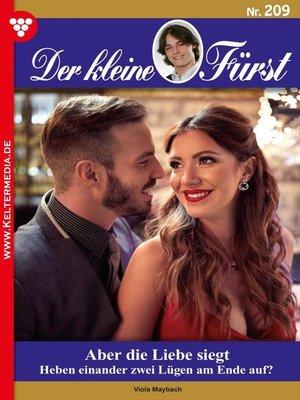 cover image of Der kleine Fürst 209 – Adelsroman