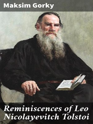 cover image of Reminiscences of Leo Nicolayevitch Tolstoi