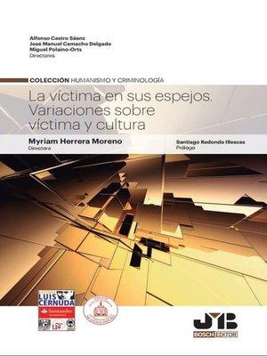 cover image of La víctima en sus espejos