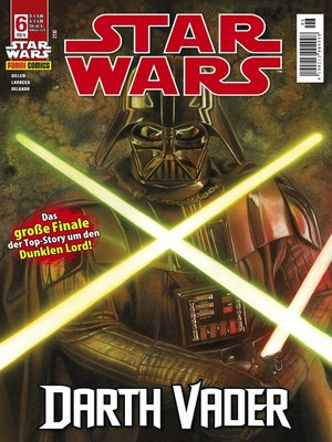 cover image of Star Wars Comicmagazin, Band 6--Vader