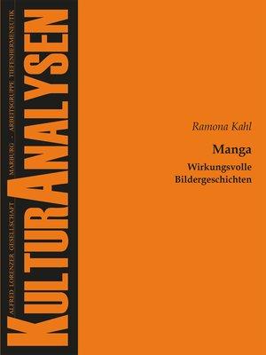 cover image of Manga – Wirkungsvolle Bildergeschichten