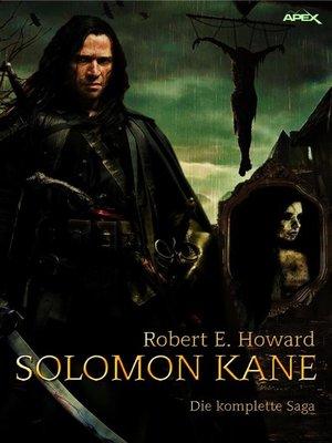 cover image of SOLOMON KANE--DIE KOMPLETTE SAGA
