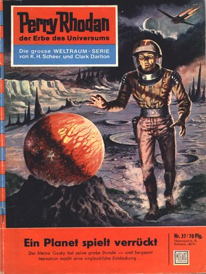 cover image of Perry Rhodan 37