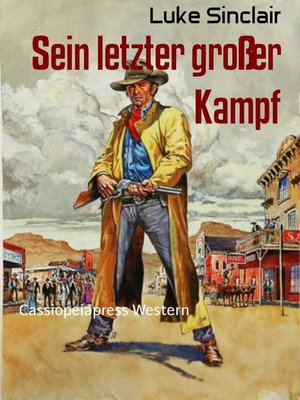 cover image of Sein letzter großer Kampf